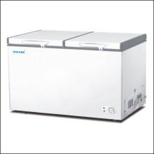 Double Door 252L Bottom Cooling Chest Freezer