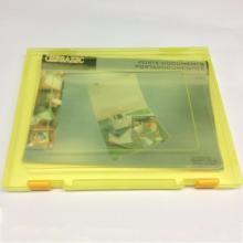 Caixa de armazenamento de arquivo A4 de plástico