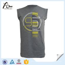 Тренажерный зал Акула для мужчин Печатные топы для баскетбола Спортивная одежда