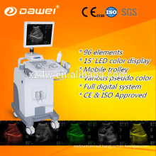 CE & ISO trolley ultrasound for Gynecology/Obstetrics/Urology & mobile ultrasound scanner made in China hot sale