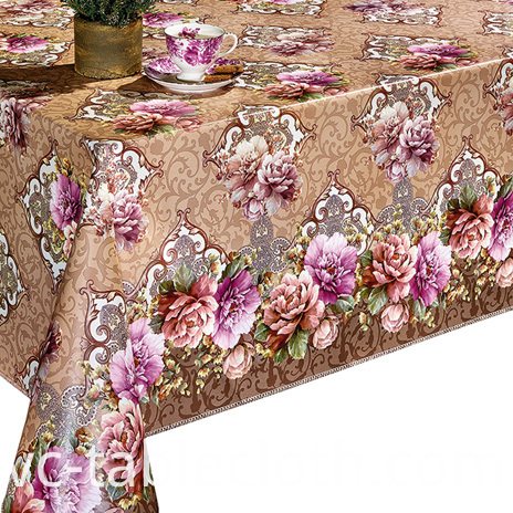 Non woven backing Tablecloth by Roll