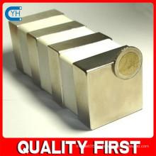 Fabricado en China Fabricante y fábrica $ Proveedor Alta calidad bloque grande imán