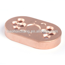Metal copper slip on raised face flange for household appliances