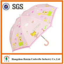 Professional Auto Open Cute Printing outdoor umbrella garden umbrella kid umbrella