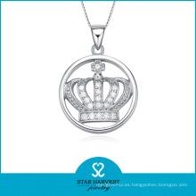 Venta al por mayor de plata de la corona Shped colgante hecho en China (SH-N0103)