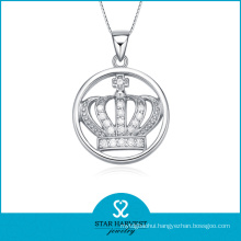 Wholesale Crown Silver Shped Pendant Made in China (SH-N0103)