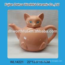 Wholesale ceramic tea pot with fox pattern