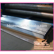 0.4mm hot dip galvanized roof top corrugated steel sheets