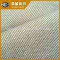 Tissu tricoté coton spandex français 2 * 2 côtes pour les vêtements