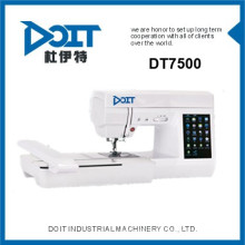 DT 7500 Multi-Funktion inländischen Computer-Stickmaschine Preise