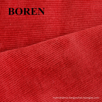 100% Cotton 35 Wales Print Velveteen-Like Corduroy Cheap and Comfortable