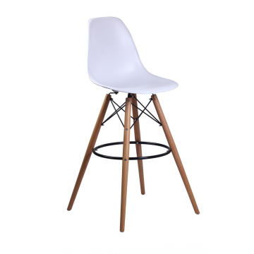 A réplica de cadeira de bar de plástico eames dsw