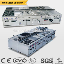 Most Popular heavy duty commercial induction cooking hotel kitchen equipment