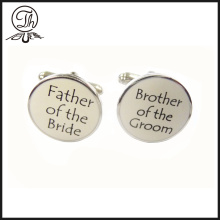 Custom father of bride cufflinks online