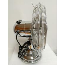 Ventilateur en métal blanc