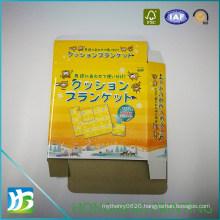 Color Printed Glossy Lamination Paper Food Box
