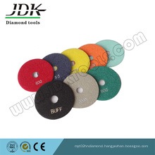80mm Diamond Wet Flexible Polishing Pads for Marble and Grantie