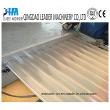 Linha de extrusão de chapas de PVC