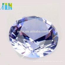 Diamante de cristal de 100mm para lembranças do casamento / presente de aniversário / peças centrais da tabela do casamento