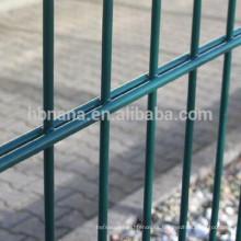 Cerca de alambre soldada ornamental doble del lazo del proveedor de la venta superior de China