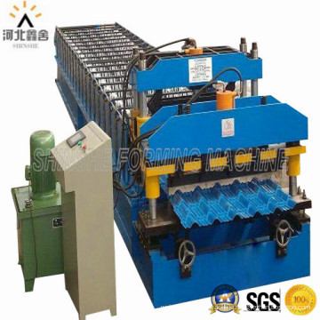 PPGI Roofing Cold Roll Forming Machine
