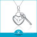 Colgante de joyería clásica en forma de corazón en existencia (N-0023)