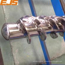 120mm goma extrusora Husillo barril