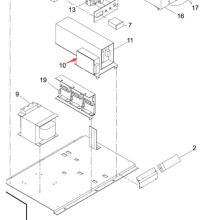 Panasonic SMT Power pour l'imprimante d'écran Sp60p-M RS0a-12 (KXFP6E8AA00)