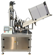 Automatic soft tube filling and sealing machine
