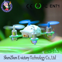 2.4G 4CH RC Mini Quadcopter Helicopter with LED Light