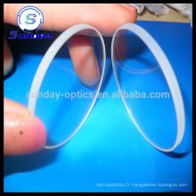 0.5inch diamètre Sapphire AR a enduit le verre optique de Windows optique pour la montre