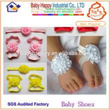 Günstigste Baby barfuß Sandalen pakistanische Sandalen