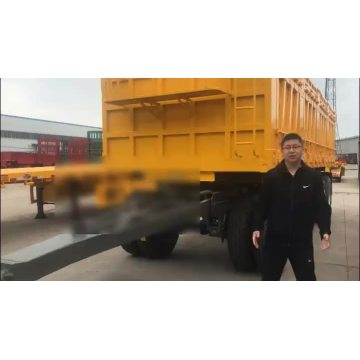 Changhong Flatbed Full Stake Trailer