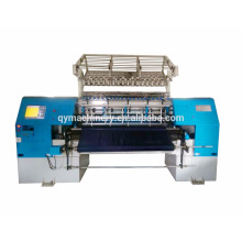 large work area top multi needle chain stitch quilting machine
