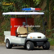 High Quality 2 seats mini electric fire engine 48V Trojan fire truck