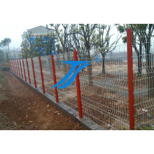Clôture de jardin en acier à treillis métallique