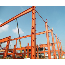 Estrutura de aço de grande resistência de grande porte