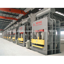 Holz Papier Laminat Hot Press Formmaschine