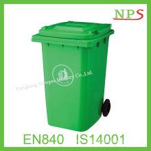 240 Liter Durable HDPE Plastic Foot Pedal Wastebin