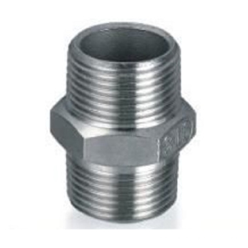 Dn50, OD50.8mm SUS304 GB Hexagon Nipple (connecteur mâle de raccord)
