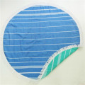 Freedom Kiwi Fruit Round Feather Beach Towel