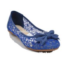 Lace mulheres sapatos sapatos baixos sapatos confortáveis Atacado doce cor