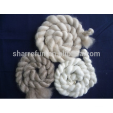 Chinesische Kaschmir-Oberteile weiß / hellgrau / braun