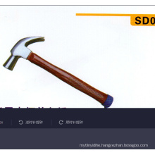 China Good Wood Handle Claw Hammer