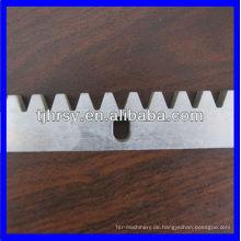 C45 Zahnstange / Messing Zahnstange Professionelle Hersteller