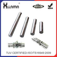 Imán industrial permanente del tubo del filtro de la barra del neodimio del material magnético