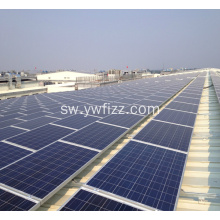 120W Customizable Polycrystalline Silicon Solar Cell Module