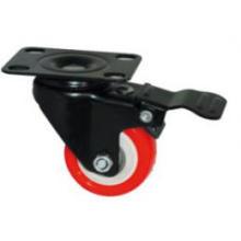 Type léger Little Kingkong Red PU Wheel Roulette (Kxx4b)