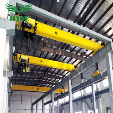 Euro Uri Electric Hoist Single Girder Overhead Crane