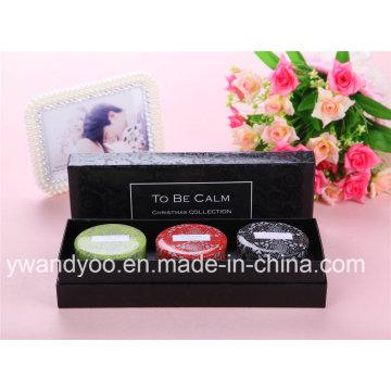 Romantische Duft Soja Tin Kerze Geschenk Set